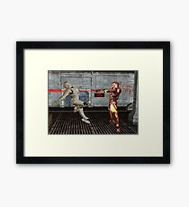 Robot Wars Framed Print