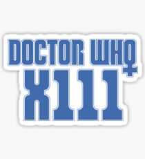 Doctor Who 13 Sticker