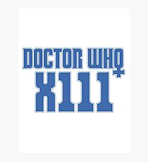 Doctor Who 13 Photographic Print