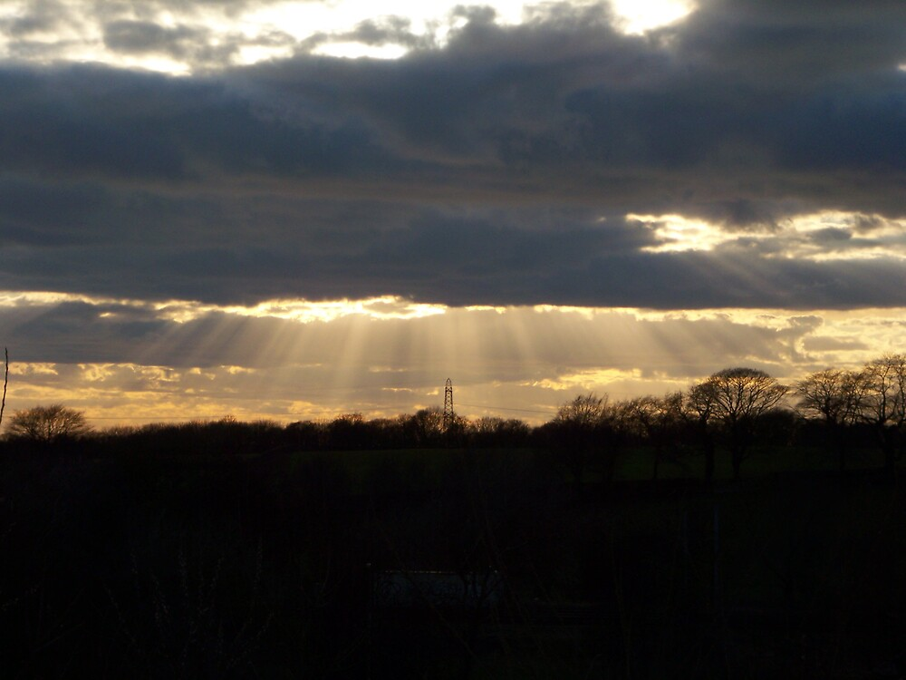 Sun rays by Ben Oliver