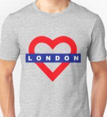 Love London underground metro T-Shirt
