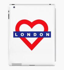 Love London underground metro iPad Case/Skin