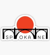 Spokane Sunset Sticker