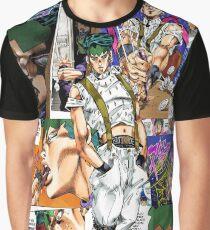 Camiseta gráfica Rohan Kishibe