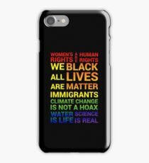 Women's Rights are Human Rights iPhone Case/Skin