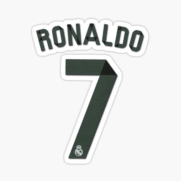 Ronaldo 7 Sticker