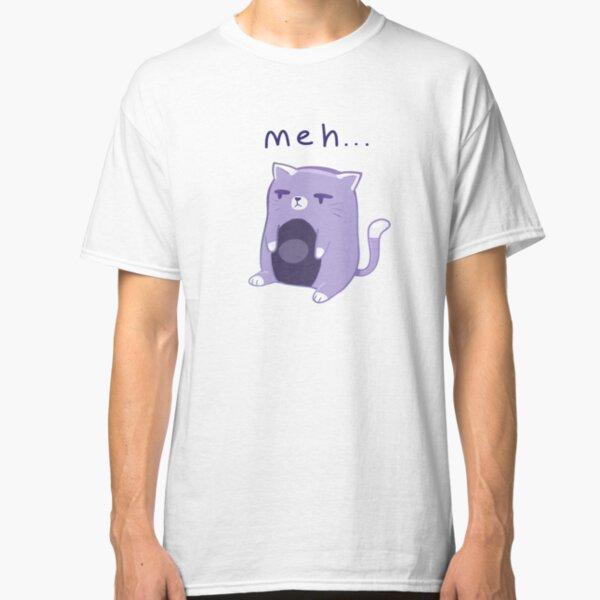 'meh' Cat Classic T-Shirt