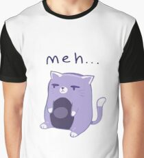 'meh' Cat Graphic T-Shirt