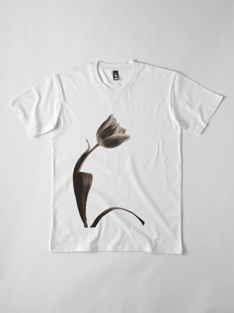 Alternate view of Antique Tulip Premium T-Shirt
