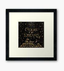 Court of Dreams ACOMAF Framed Print