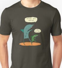 Things get weird. T-Shirt