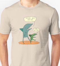 Things get weird. T-Shirt