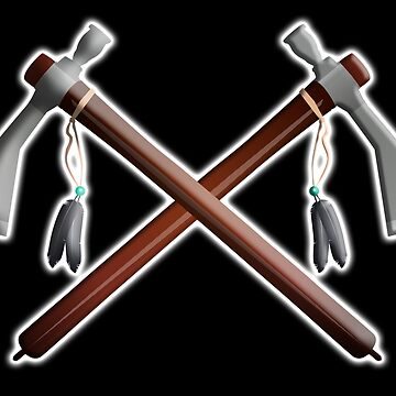 Tomahawk, Hawk, War, Axe, Weapon, Tool, Crossed, Native Americans by TOMSREDBUBBLE