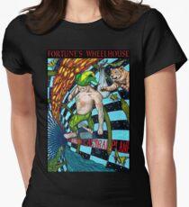Fortune's Wheelhouse Fool Tabula Mundi Tarot Women's Fitted T-Shirt