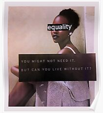 Equality Collage Poster