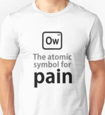 Atomic Symbol for Pain tshirt T-Shirt