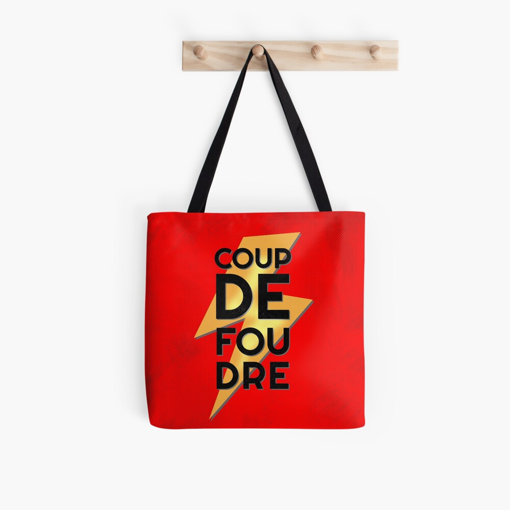 Coup de Foudre Love at First Sight Tote Bag