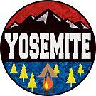 YOSEMITE NATIONAL PARK CALIFORNIA CAMPING OUTDOORS NATURE HIKING by MyHandmadeSigns