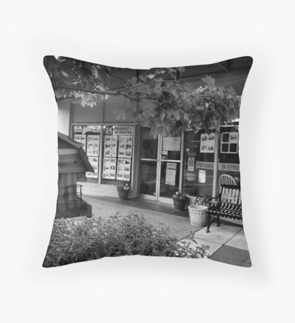 Home Provider Throw Pillow