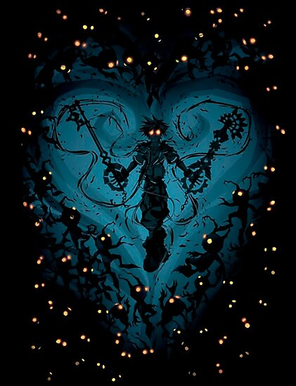 Kingdom Hearts - Feel the Darkness by Miguel  Fresnadillo