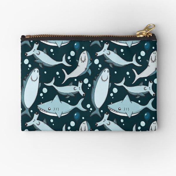 Sharks! Zipper Pouch