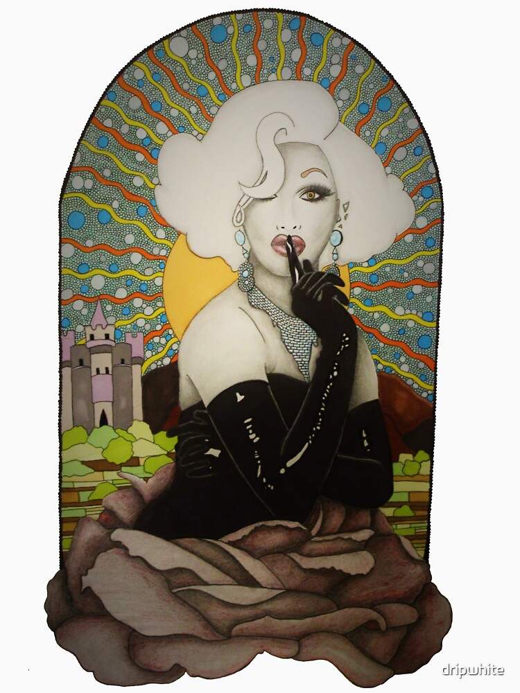 Fondo claro Jinkx Monsoon Design de dripwhite