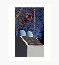 Canadian Cenotaph  Art Print