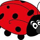 Happy Ladybug by fuzzydragons