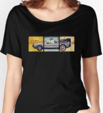 Delorean - Back to the Future Women's Relaxed Fit T-Shirt