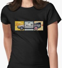 Delorean - Back to the Future Women's Fitted T-Shirt