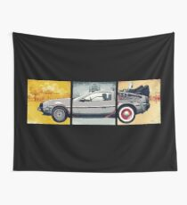 Delorean - Back to the Future Wall Tapestry