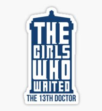 The Girls Who Waited Sticker