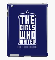 The Girls Who Waited iPad Case/Skin