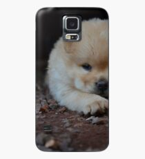chow chow puppy laying Case/Skin for Samsung Galaxy
