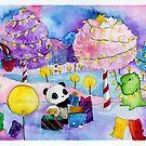 Dino & Panda Candyland Christmas by DinoPanda