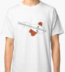 Appalachian/Mountain Dulcimer & Roses Classic T-Shirt