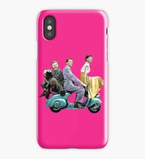 Posterized Roman Holiday iPhone Case/Skin