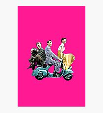 Posterized Roman Holiday Photographic Print