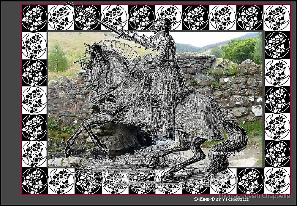 Hilary Dougill's Knight in Shining Armour by Thomas Josiah Chappelle