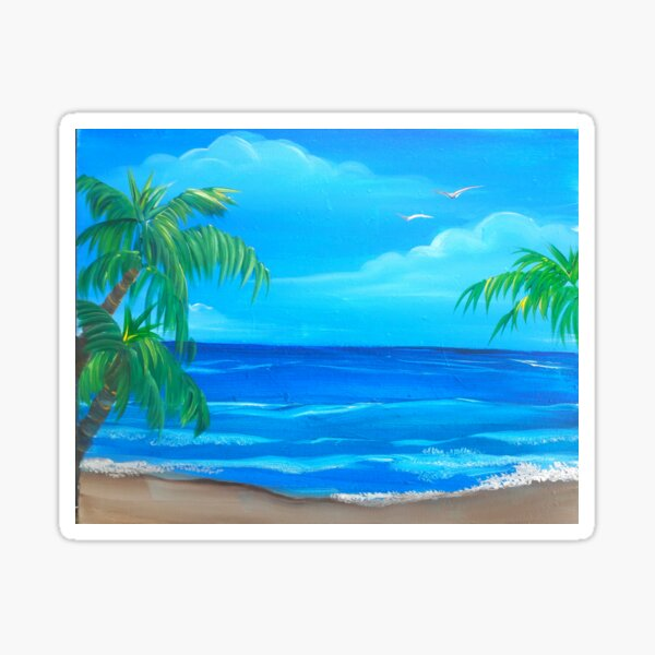Island Dream Sticker