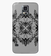 Ghost Cirice Moth Kaleidoscope Case/Skin for Samsung Galaxy