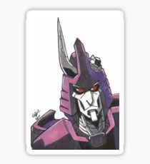 """Not a Decepticon"" - Cyclonus Sticker"