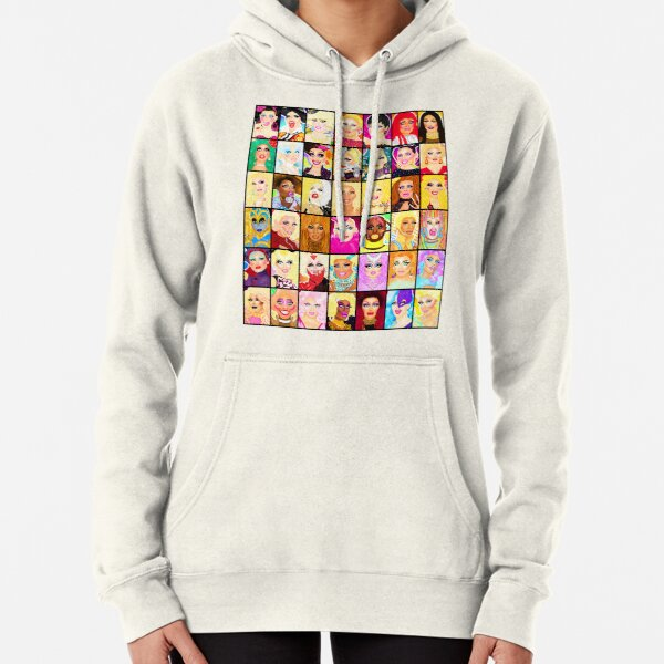 LIFE IS A DRAG Pullover Hoodie