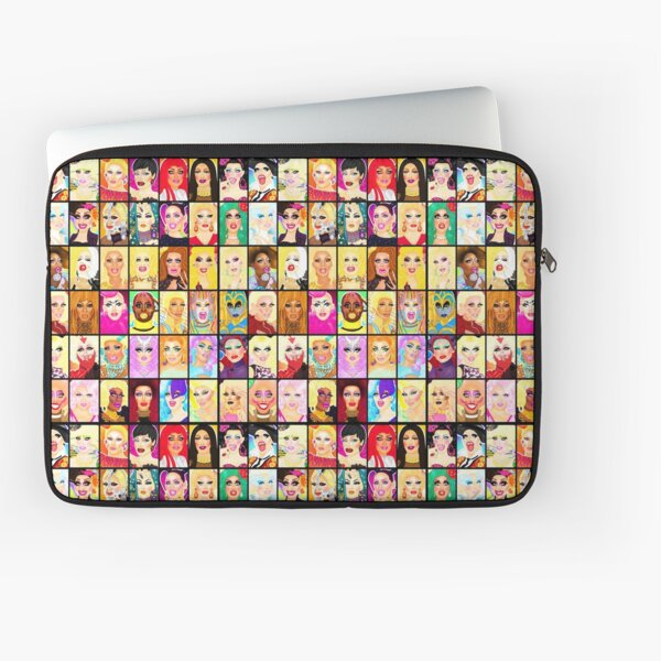 LIFE IS A DRAG Laptop Sleeve