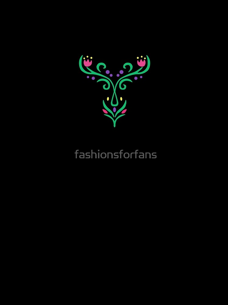 Ice Princess Embroidery by fashionsforfans