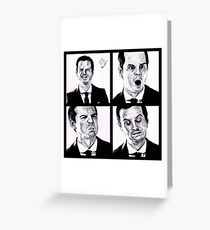 Jim Moriarty Greeting Card