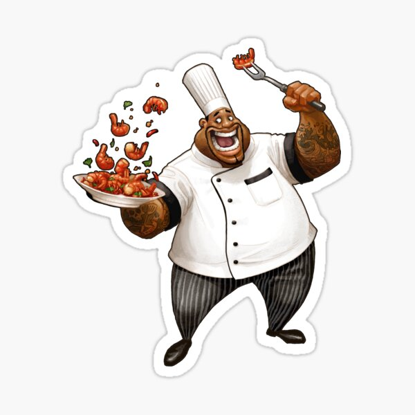 Chef Demetrius Gumbo Sticker