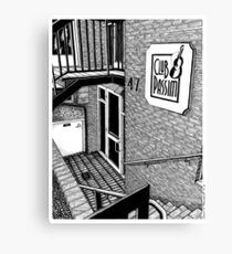 Club Passim - Cambridge Canvas Print
