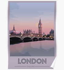 London Travel Poster Poster
