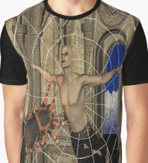 Spiders Web Graphic T-Shirt